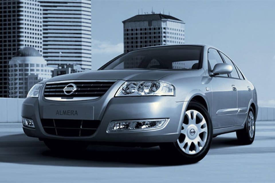 Nissan Almera подготовлена специ…